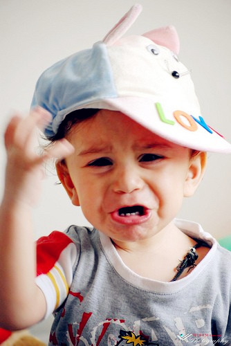 小孩子哭脸脸的n种原因