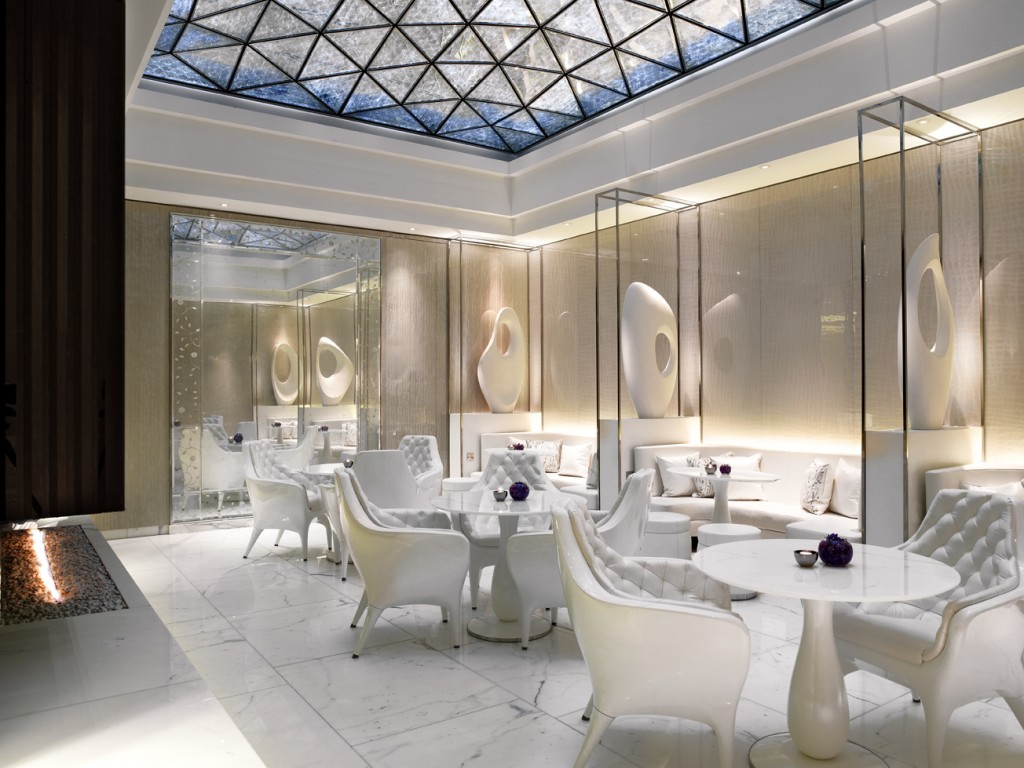 The Spa Lounge detail ESPA Life at Corinthia
