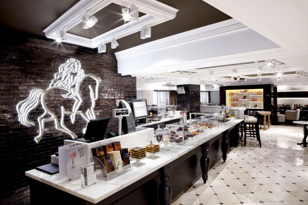 Godiva Chocolate Cafe 1_Second Floor