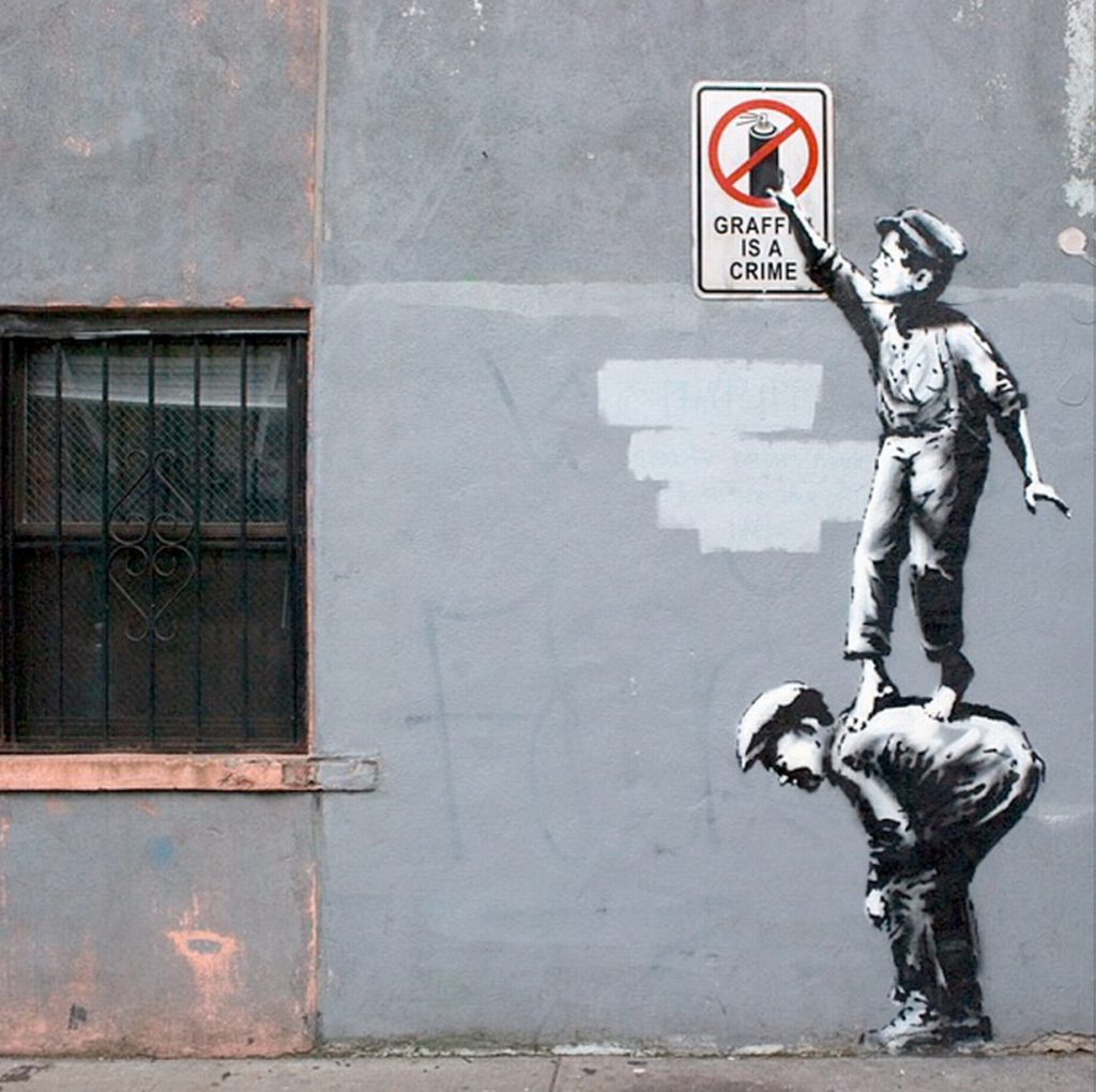 BANKSY-GRAFFITI-The-street-is-in-play-Manhattan-2013-banksyny