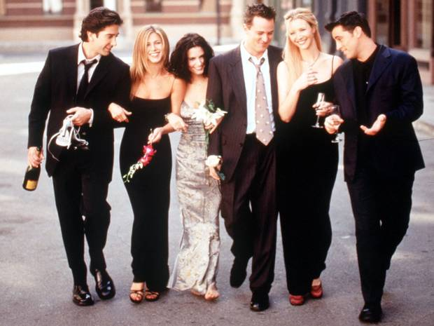 20 years since the start of Friends