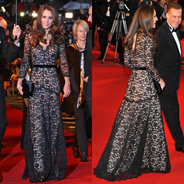 Kate-Middleton-at-War-Horse-premiere-duchess-of-cambridge-lace-temperley