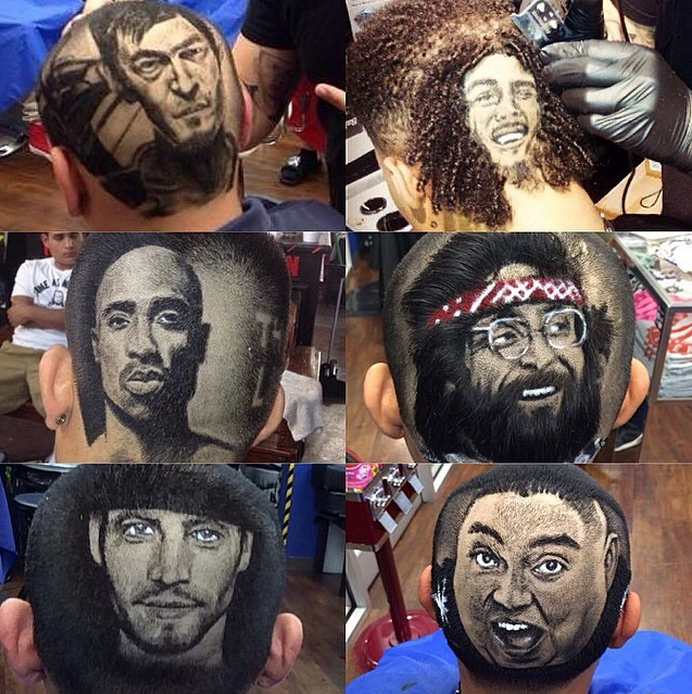 Amazing-Caricatures-Cut-Into-Hair
