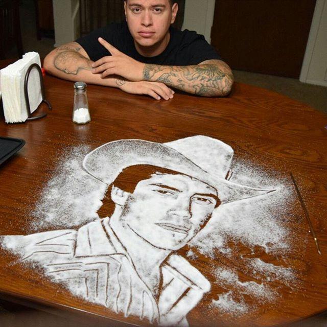 Incredible-salt-portrait-by-artist-Rob-Ferrel-@robtheoriginal-Chalino-Sanchez