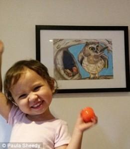 当这妈帮自己孩子们的简笔画上好色.这是不是培养小!