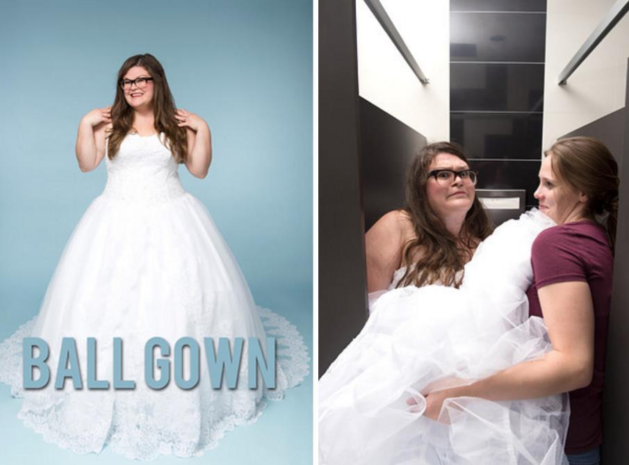 kristinchirico tried different methods peeing wedding dress