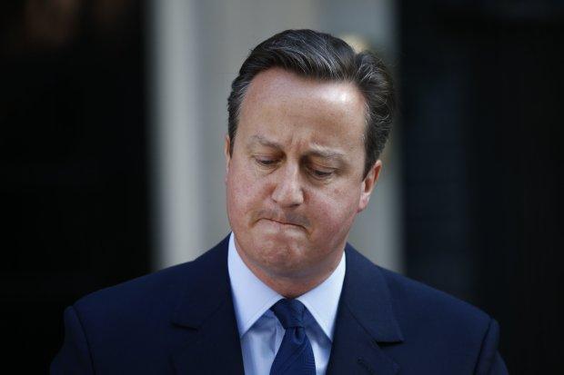 David Cameron announces the EU referendum results
