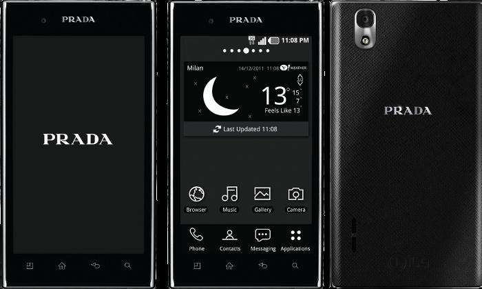 PRADAandLG-phone