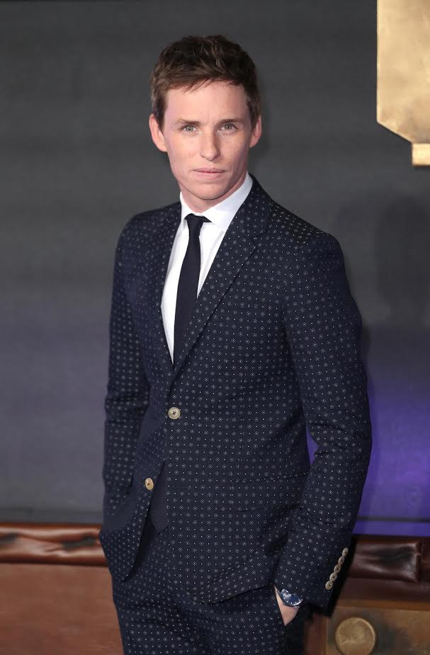 "LONDON, ENGLAND - NOVEMBER 15:Eddie Redmayne attends the European premiere of ""Fantastic Beasts And Where To Find Them"" at Odeon Leicester Square on November 15, 2016 in London, England. (Photo by Mike Marsland/WireImage) *** Local Caption *** Eddie Redmayne"