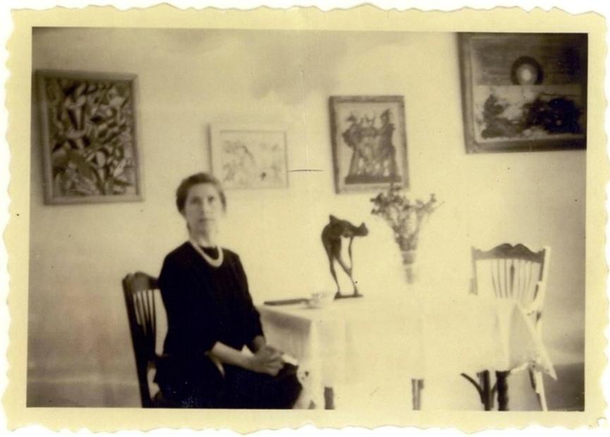 伪造祖母的照片