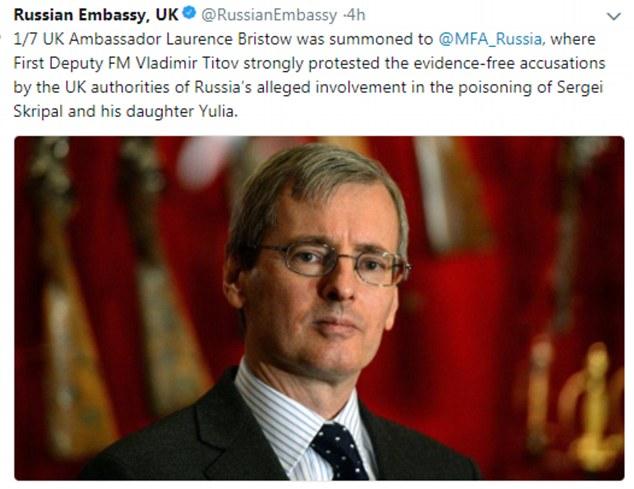 外交部推特截图