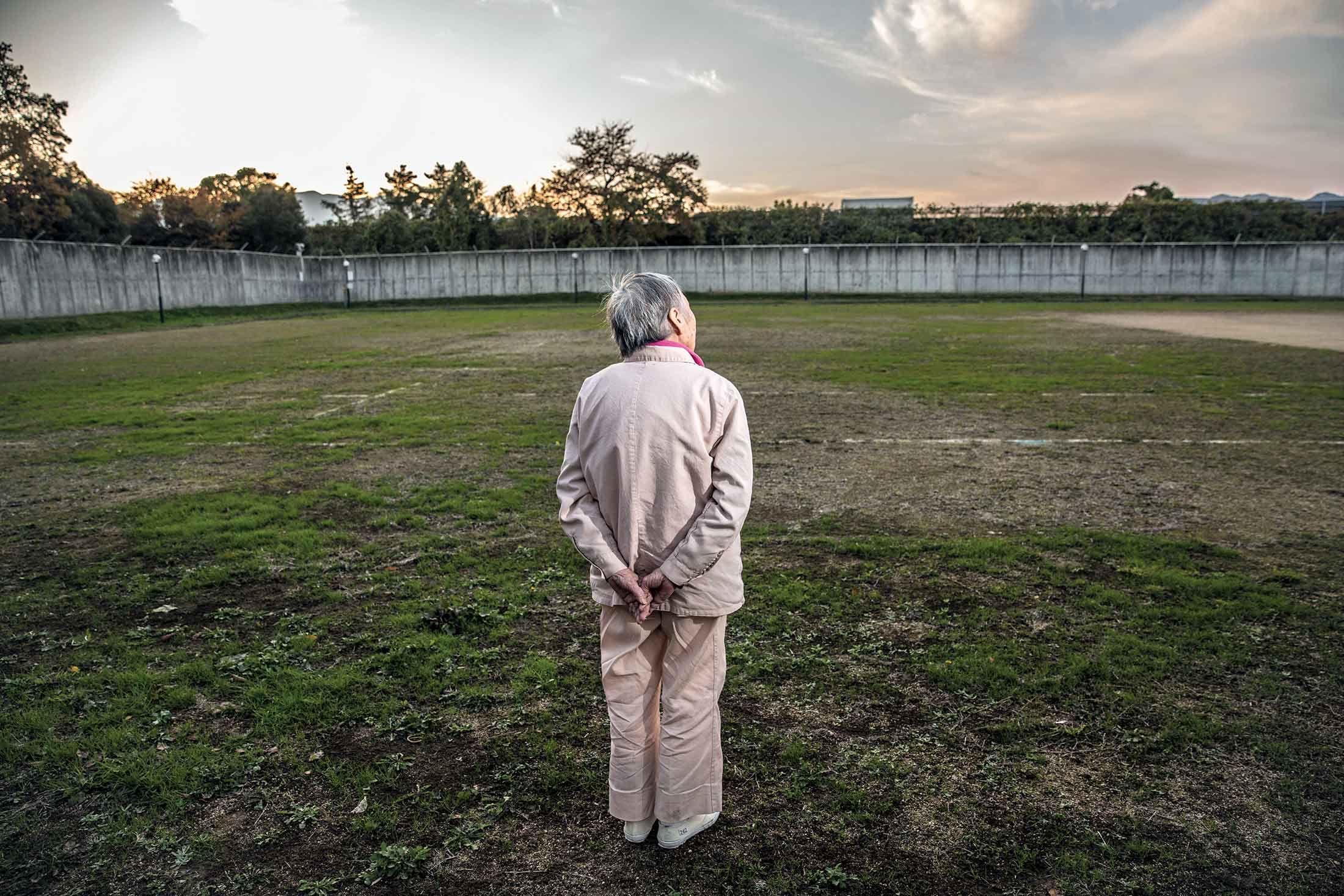 我84岁了,生平第一次来监狱