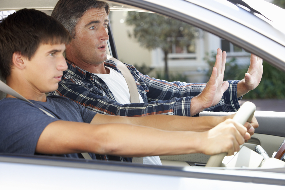 Dad-driving
