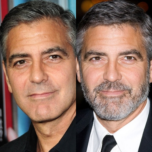 george-clooney-beard-no-beard