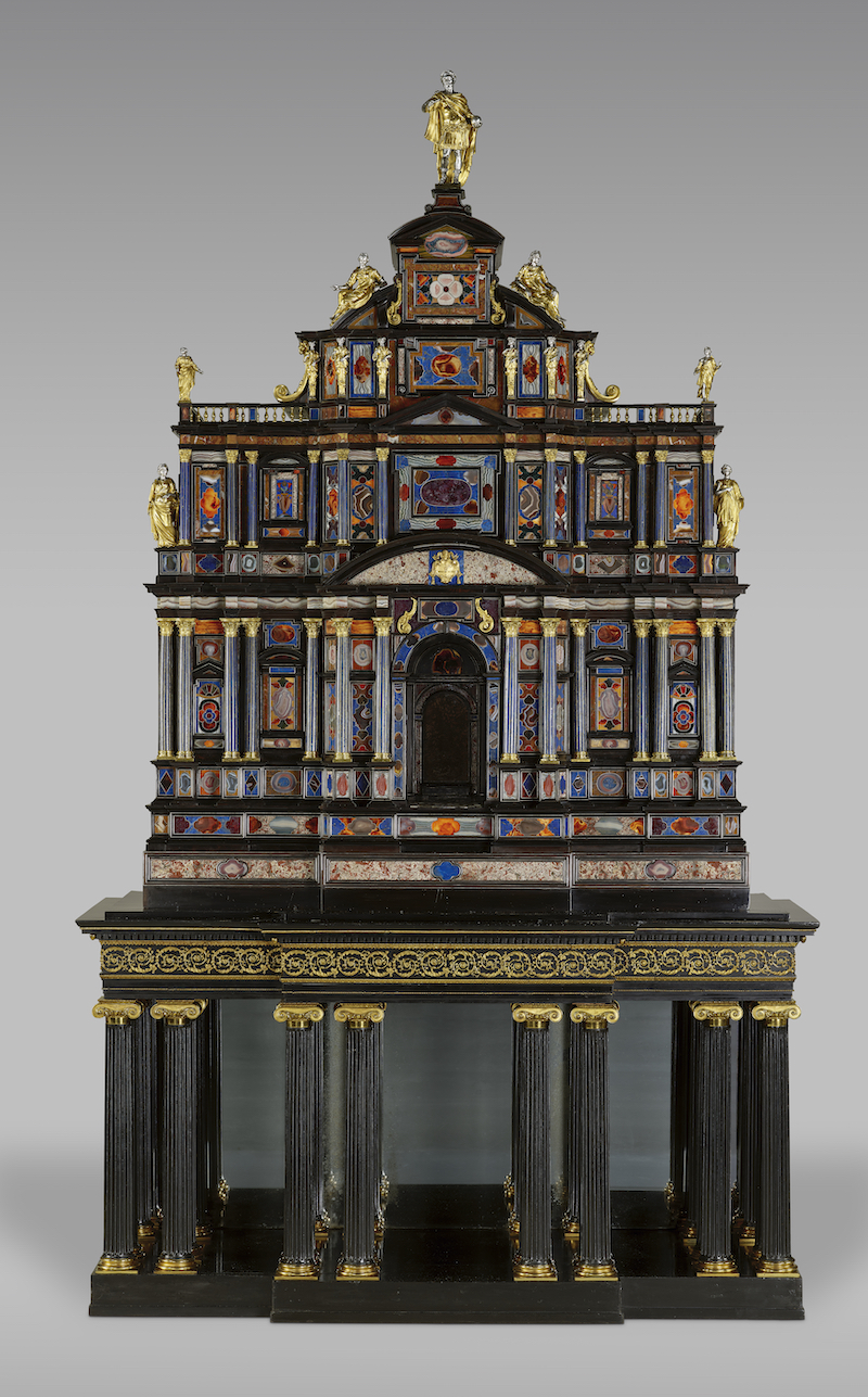 Borghese-Windsor-Cabinet-ca.-1620-on-19th-c.-stand.-Getty