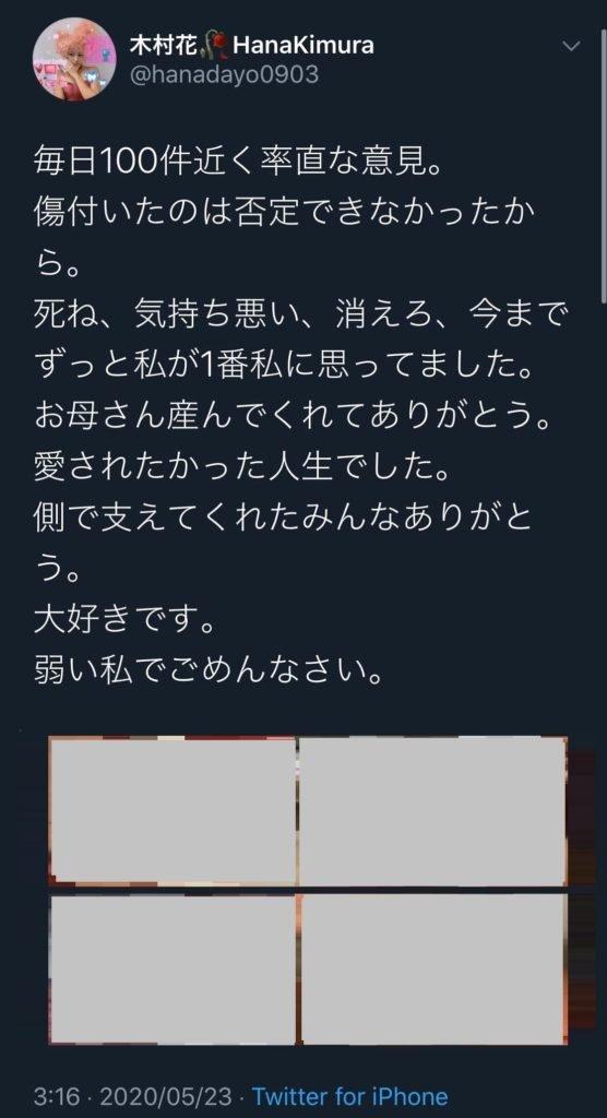 理由 木村 花 誹謗 中傷